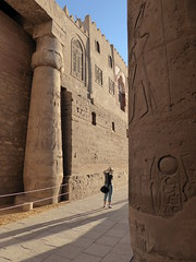 The Mosque in Luxor Temple