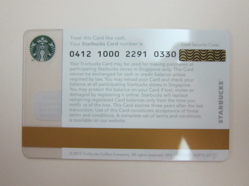 Starbucks alice + olivia Design Collection - Starbucks Card Back