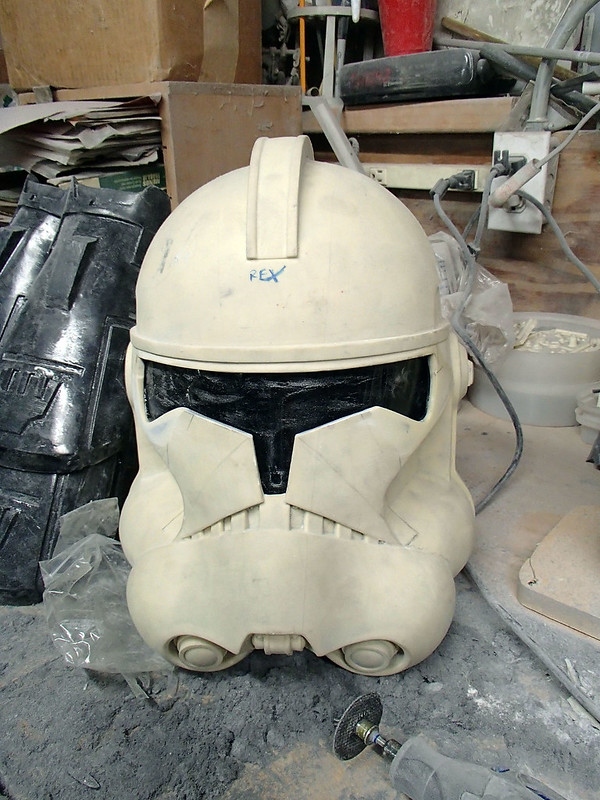 Captain Rex Visor Fitted