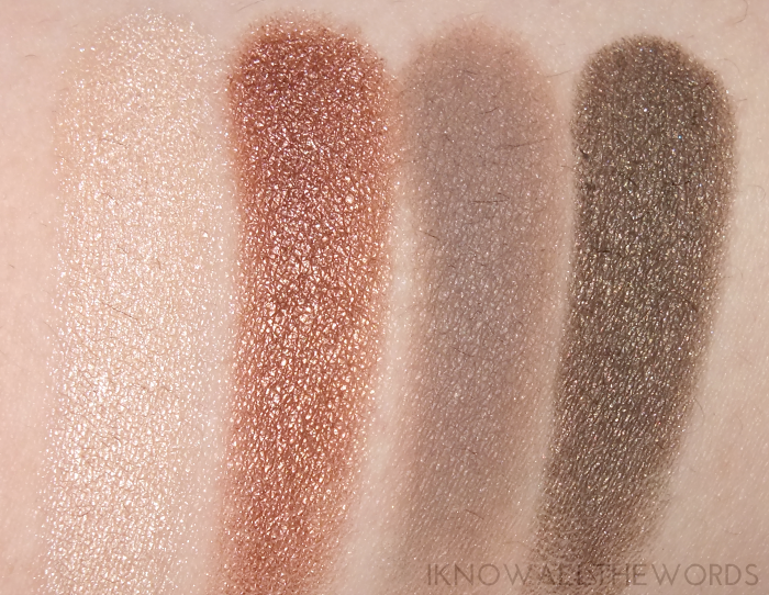make up for ever give in to me fifty shades of grey artist shadow swatches