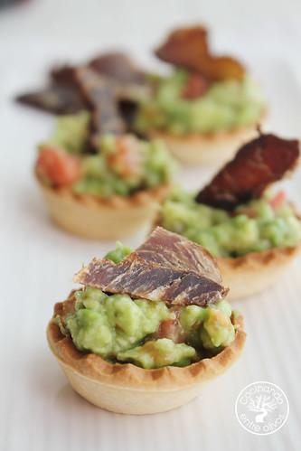 Tartaletas de biltong y aguacate www.cocinandoentreolivos.com (9)