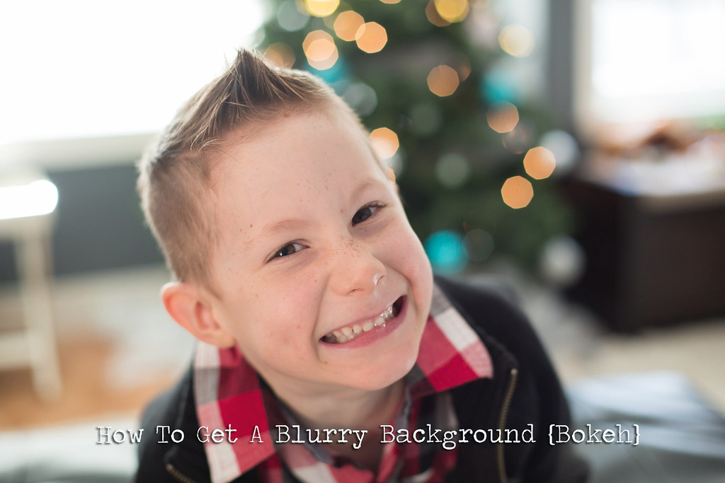 How to get a blurry background in your photo which is also known as bokeh.