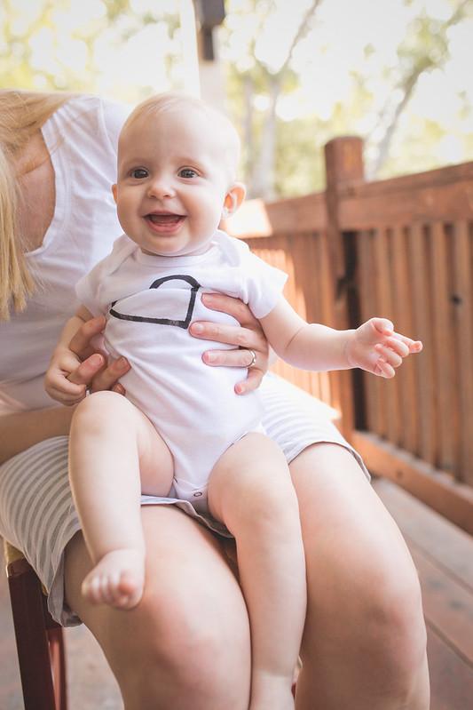 gummy grin - 6 months