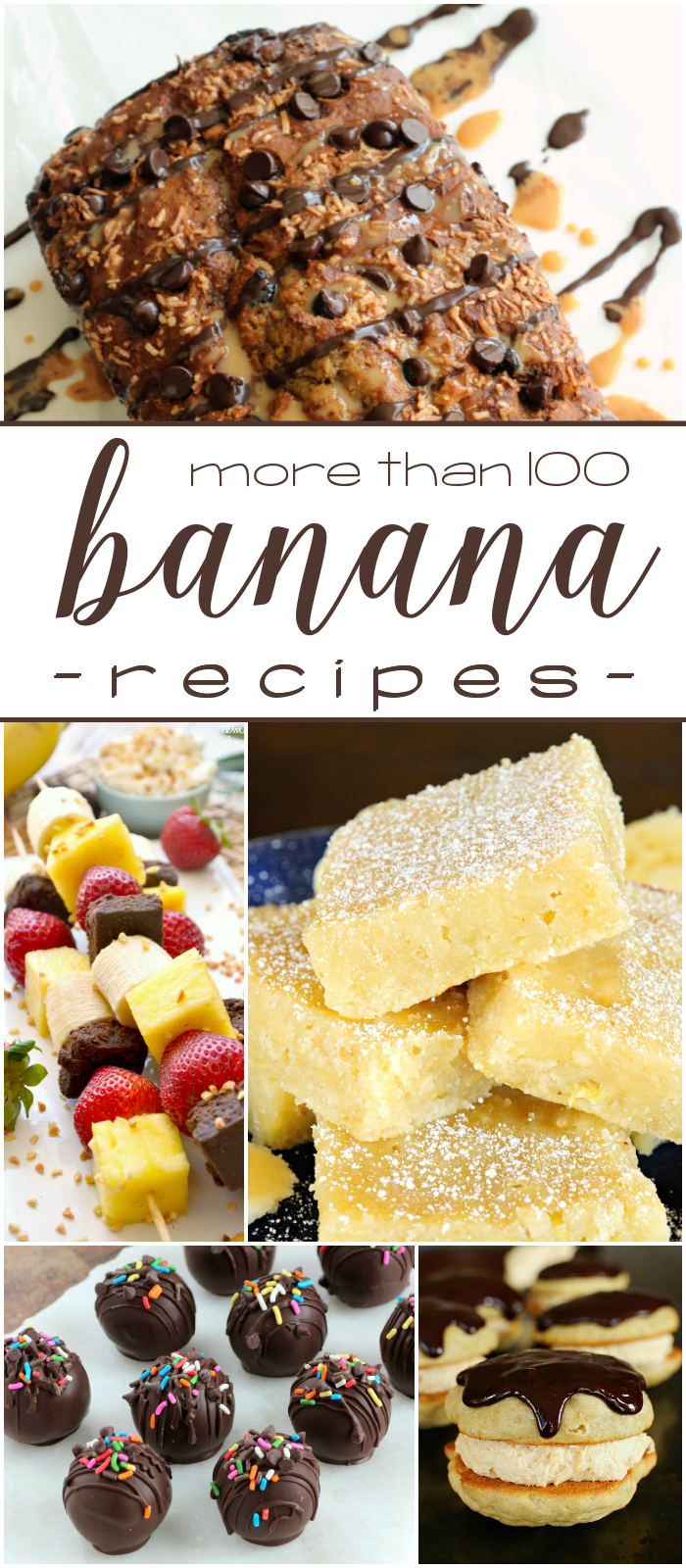 More than 100 banana recipes!