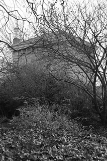 Pump House Gallery through the trees