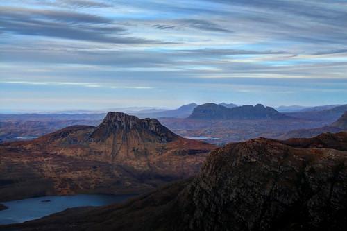 mountain landscape scotland assynt