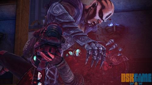 Nosgoth - Vampiro absorbiendo la sangre de su victima