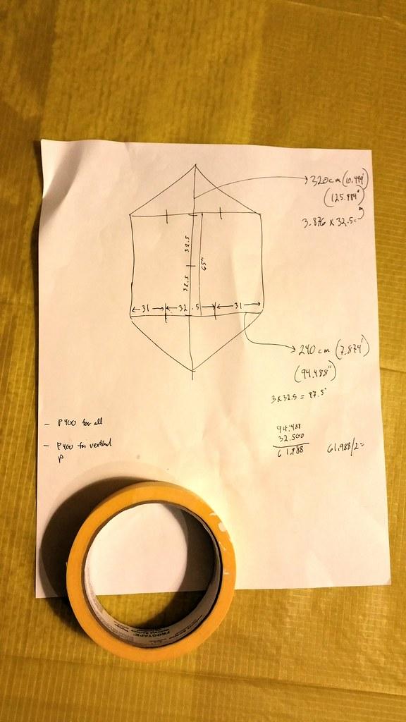 Kite framing plan