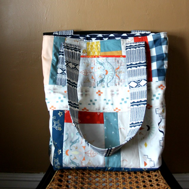 Grocery Tote  From Scraps!
