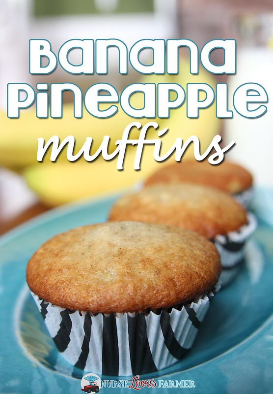 Banana Pineapple Muffins
