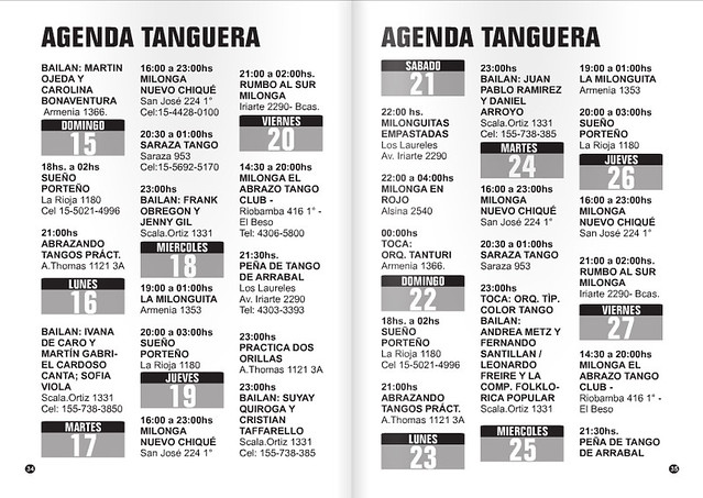 Revista Punto Tango Mayo 2016 - 5