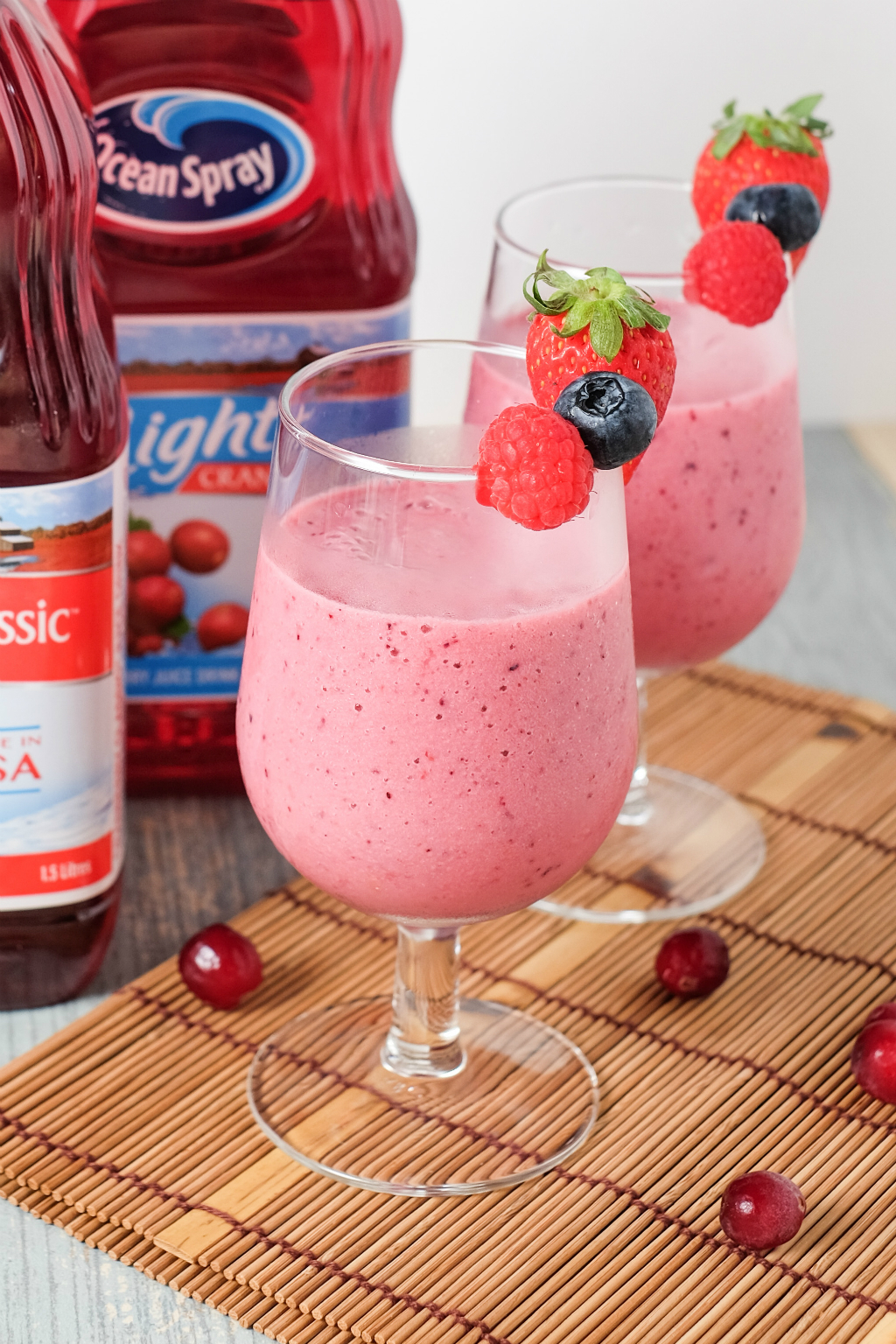 Ocean Spray's Mixed Berry Smoothie