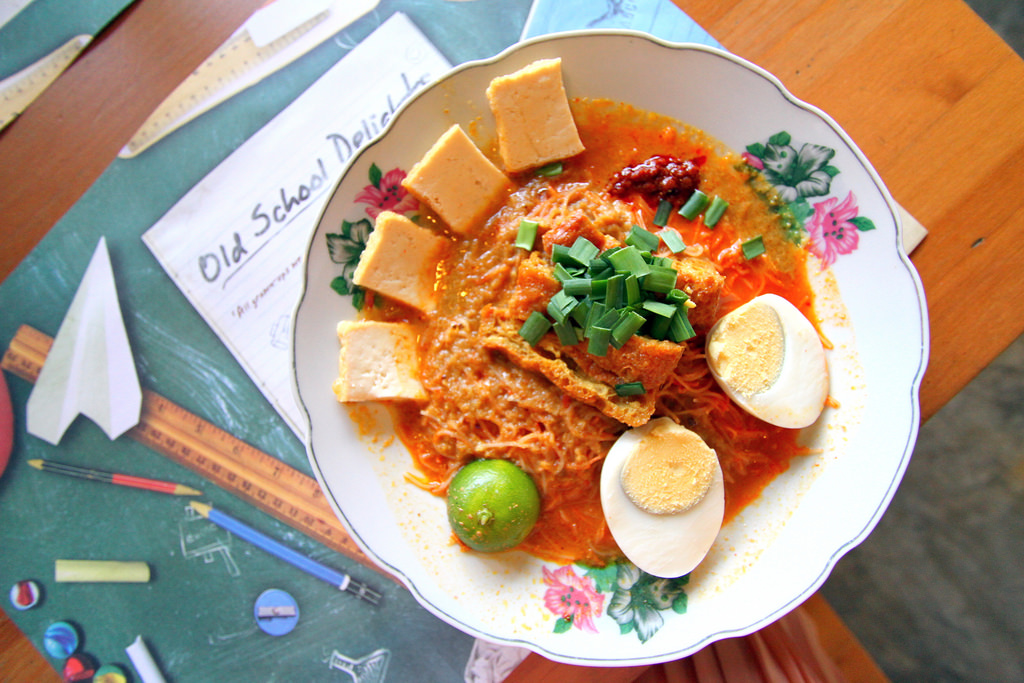 Old School Delights' Mee Siam on Deliveroo