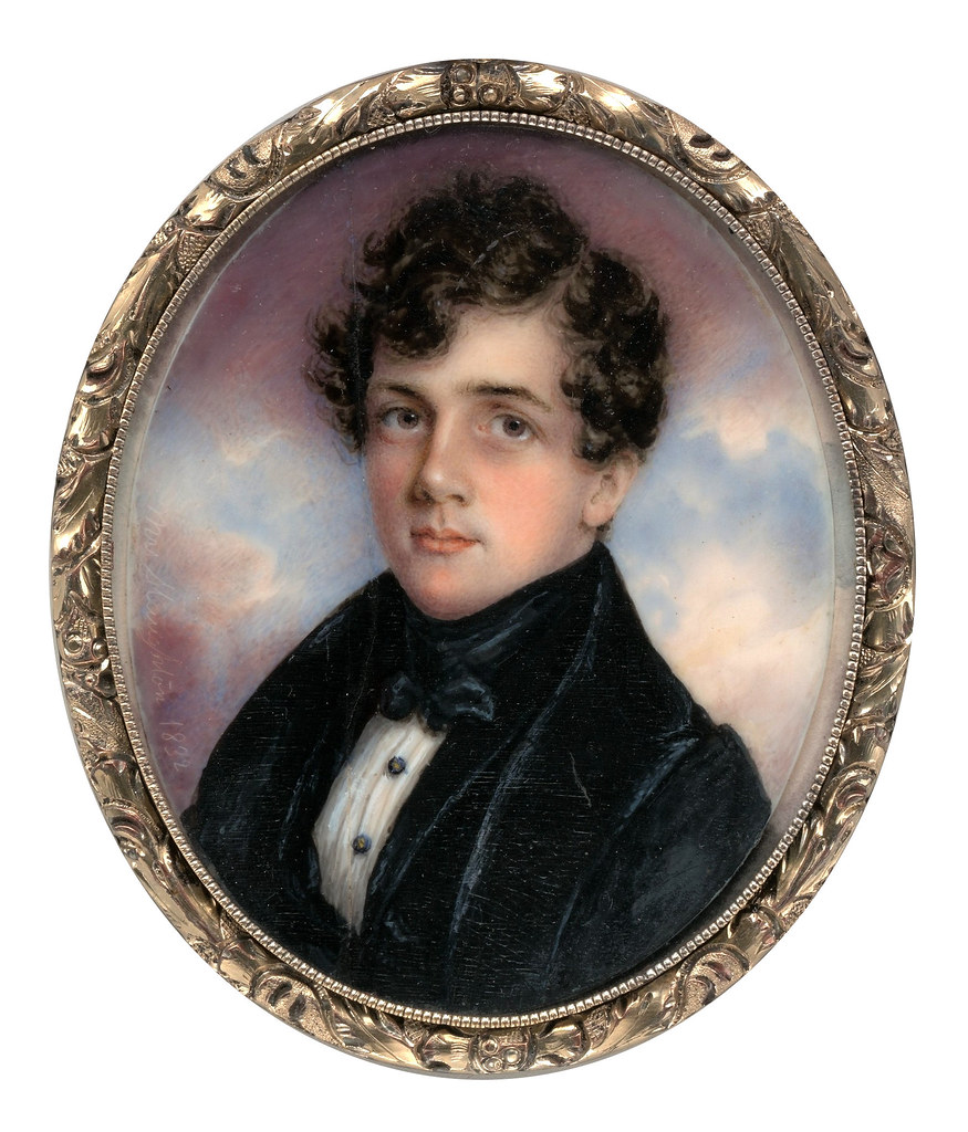 Portrait of a Gentleman by Anna Claypoole Peale, 1832