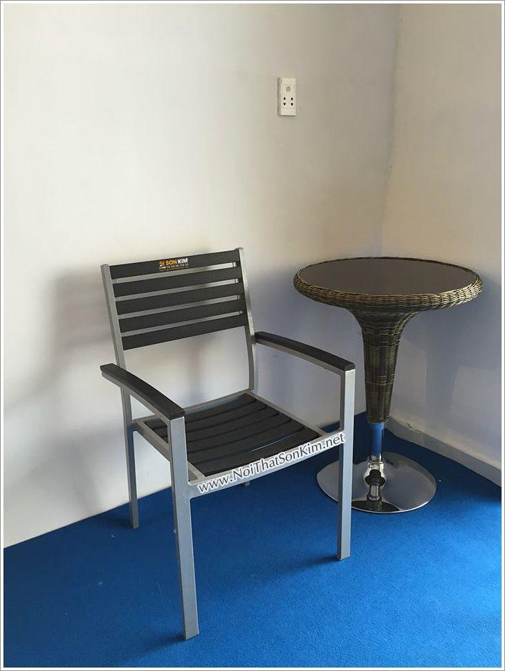 Mẫu bàn ghế nhà hàng nhập khẩu SKNK8424