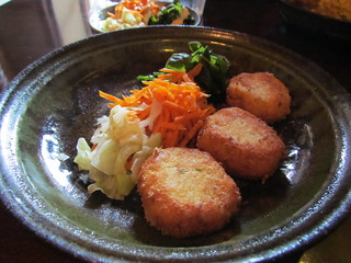 Ashura - Tofu Croquettes and Salad