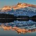 Sunrise at Two Jack Lake