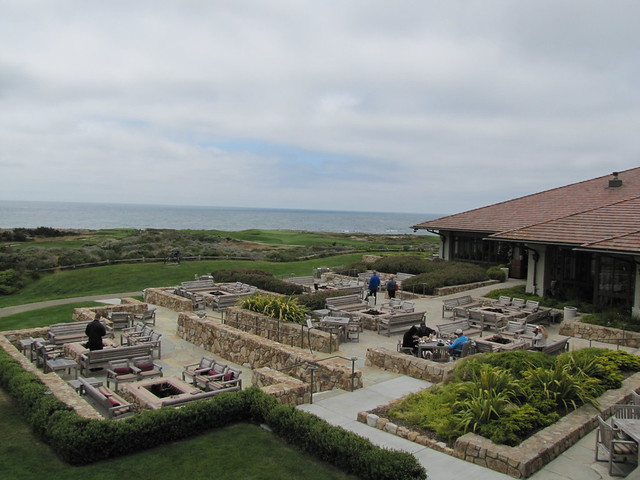 Firepits and Lounge at The Inn at Spanish Bay