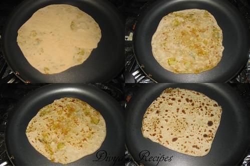 mixed veg parataha9