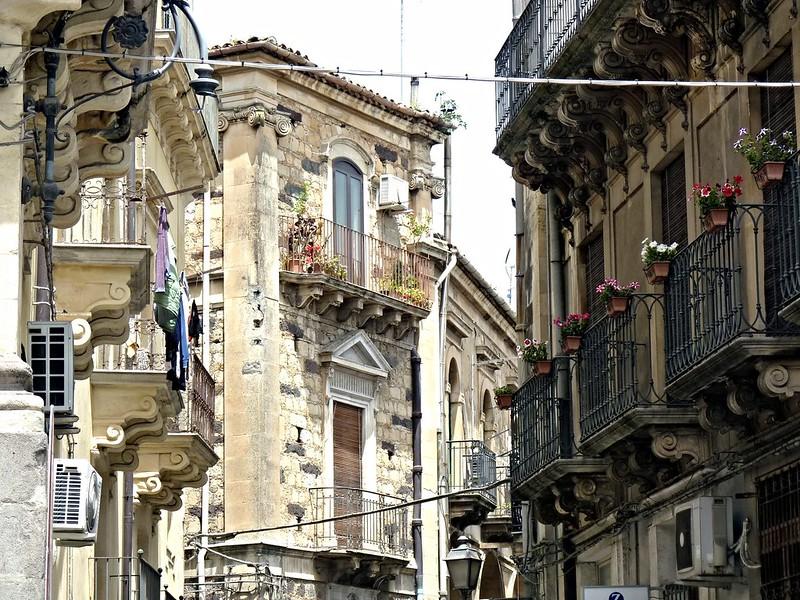 Vizzini (Ct) - Antichi palazzi