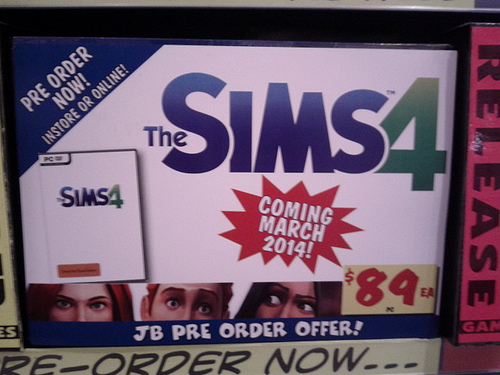 The Sims 4 = March 2014?