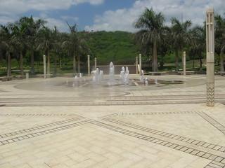 Fountain in Al Azhar park