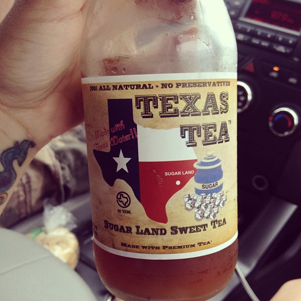 #Texastea #Sugarland #Sweettea made with #texaswater #noms #texasbaby #gotexan #realtexas #realtea #southernteaisthebest