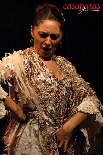 Mónica Fernández en nuestro tablao. Foto: Martín Guerrero