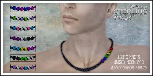 LGBTQ Knots - hunt prize
