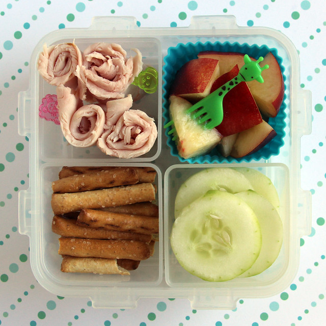 Preschool Turkey Bento #471