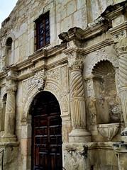 The Entrance to The Alamo