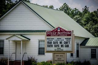 Steep Bottom Baptist