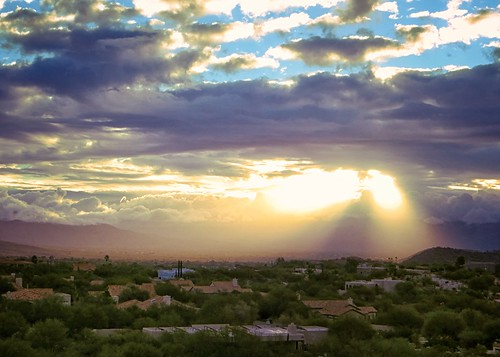 mountains sunrise tucson