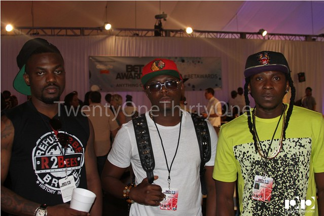 Jay Foley caught up with R2Bees and Ice Prince at BET Awards 2013 (14)