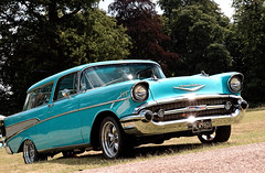 ford ranch wagon(0.0), compact car(0.0), chevrolet bel air(0.0), convertible(0.0), automobile(1.0), automotive exterior(1.0), 1957 chevrolet(1.0), vehicle(1.0), automotive design(1.0), antique car(1.0), sedan(1.0), land vehicle(1.0), luxury vehicle(1.0), motor vehicle(1.0),