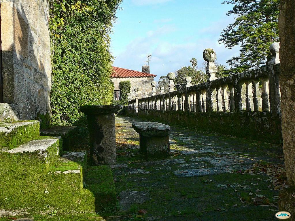 Detalle del pazo de Fefiñanes, en Cambados. Autor, Juantiagues