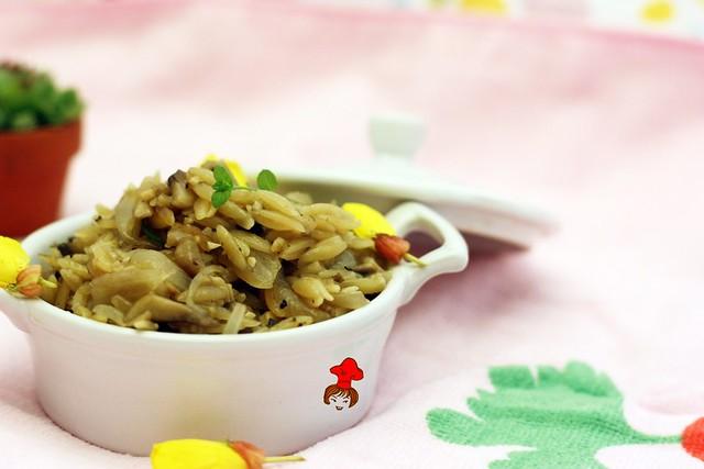 蘑菇義大利米麵 Mushroom Orzo 5