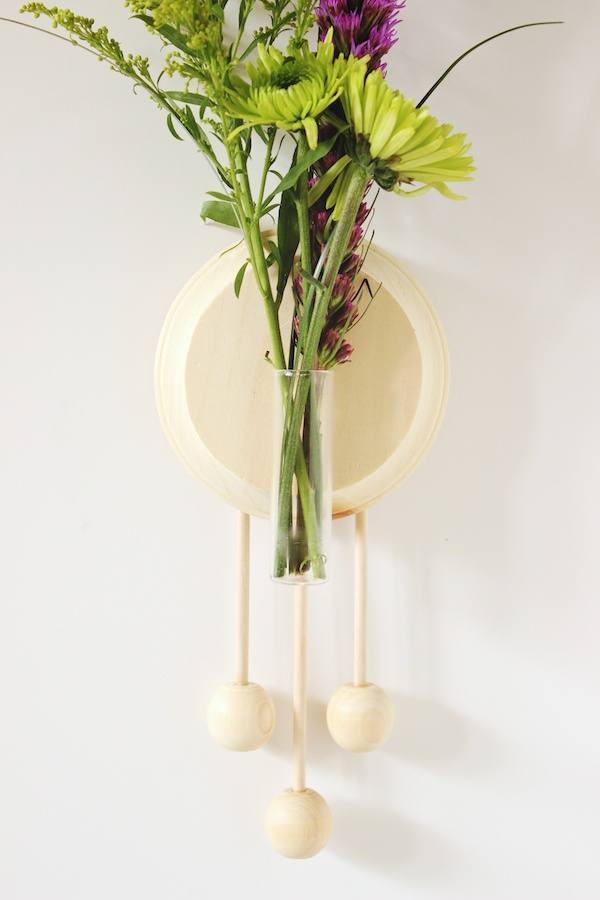 Fabric Paper Glue | Trade & Made DIY Wooden Wall Vase 8