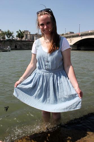 Dans la Seine