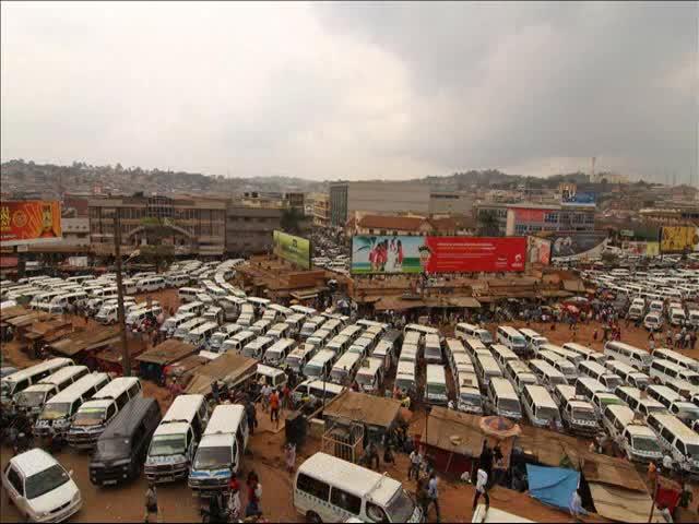Old Kampala Taxi park