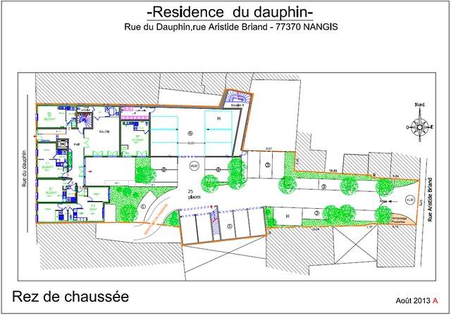 Résidence du Dauphin - Plan de vente - Rez de Chaussée