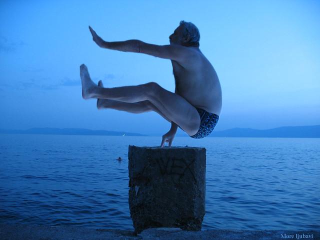 Yoga nad morem