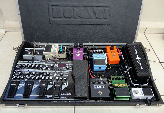 Photo:Pedalboard August 2013 By marcelodonati