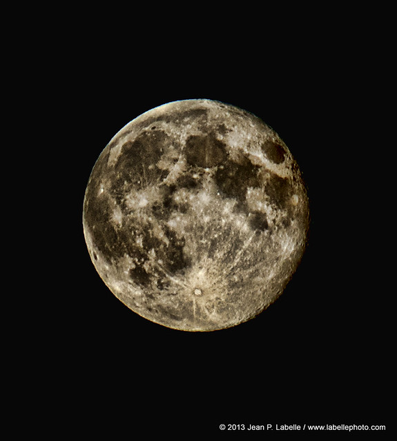 Tonight's Moon In Ottawa