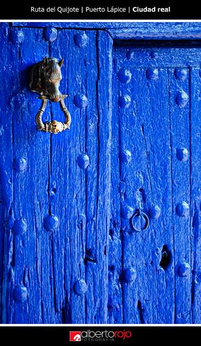 Azul | Puerto Lápice | Ruta del Quijote by alrojo09