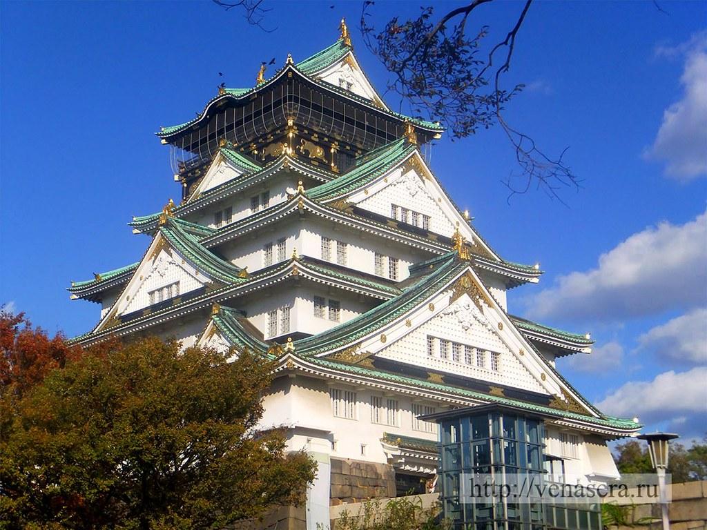 Замок в Осака