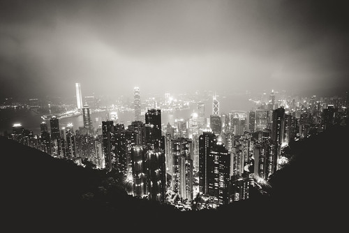 Hong Kong Island by Zanthia
