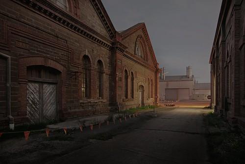 longexposure nightphotography urbandecay adelaide southaustralia industriallandscape