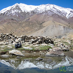 Lake Reflections of Kang Yaze Peak - Markha Valley Trek, Ladakh