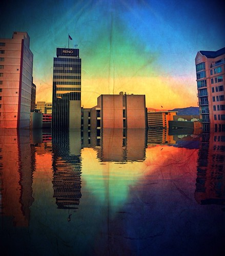 sky reflection mobile cityscape nevada july nv lensflare reno ios hdr photooftheday 2013 skyporn northernnevada mobilephotography sunsetphotography parkinggallery cityscapephotography mountainphotos iphoneography iphone4s icamerahdr pixlromatic snapseed originalfilter unitedbyedit uploaded:by=flickrmobile flickriosapp:filter=original